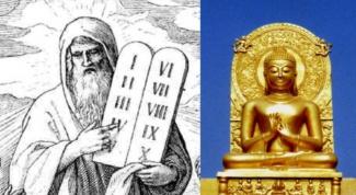 Чем отличаются заповеди в христианстве и в буддизме