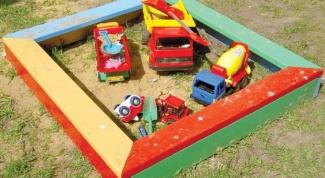 Как выбрать детскую песочницу