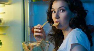 Почему ночью еда в холодильнике вкуснее