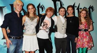 Какие актеры играют в «Гарри Поттере»