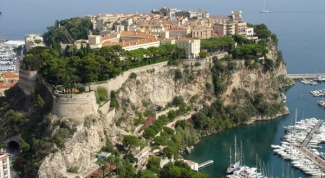 Где находится Монако