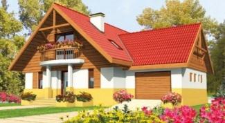 Как вычислить высоту конька при постройке дома