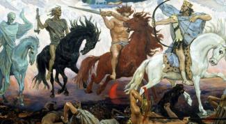 Кто такие четыре всадника Апокалипсиса
