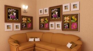 Как красиво и стильно оформить стены фотографиями