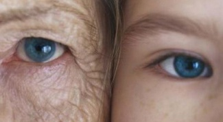 How facial features change with age
