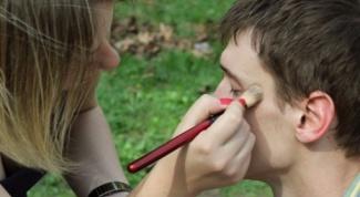 Как нарисовать шрам на лице