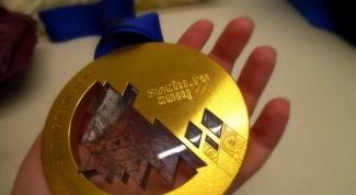 Как выглядит золотая медаль Олимпиады-2014