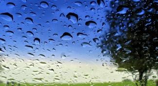 Что такое антидождь