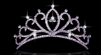 How to make a tiara with your hands