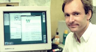 Как выглядел самый первый сайт