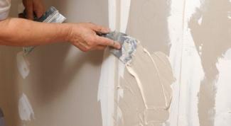 Как чистить стены из гипсокартона