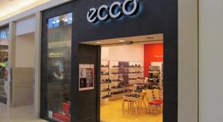 Где производят обувь Ecco