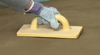 Как железнить бетон