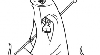 How to draw the grim Reaper pencil