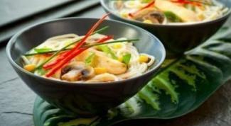 Китайский грибной суп