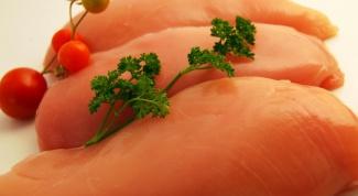 Куриное филе с овощами в рукаве
