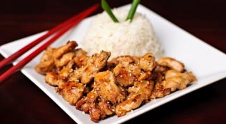 Как приготовить пряную курицу терияки