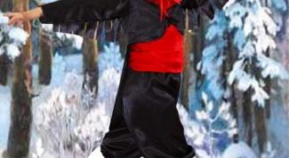 Как сделать костюм снегиря