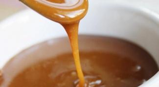 Как сделать жидкую карамель