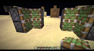 Как сделать поршень в minecraft