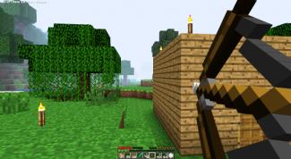 Как в игре minecraft сделать лук