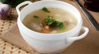 Как приготовить суп из потрохов