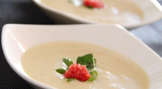 Как приготовить крем-суп из лука-порея