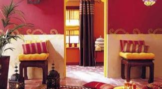 Интерьер дома в индийском стиле