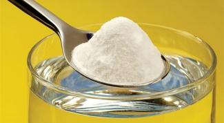 Лечебные свойства пищевой соды