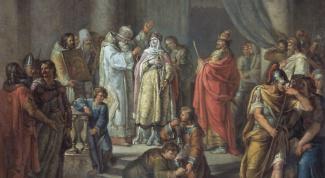 Кто из Рюриковичей первым принял христианство