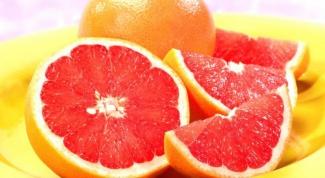 Красный и белый грейпфрут - чем отличаются