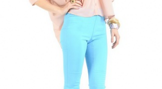 Pants turquoise