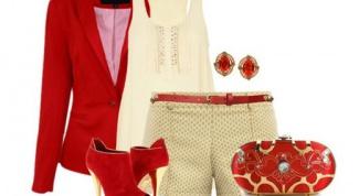 Красные ботильоны: с чем носить?