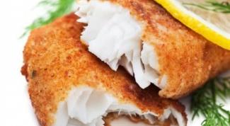 Рыба в панировке