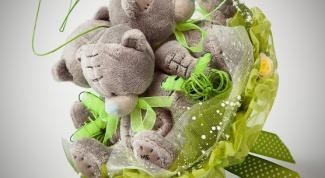 Как сделать букет из игрушек своими руками
