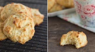 Как приготовить быстрое кокосовое печенье