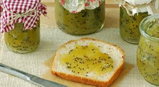 Как приготовить домашний джем с киви
