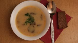 Как приготовить суп из свежих грибов за 40 минут