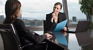 Как правельно вести себя на собеседовании?