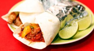 Готовим самое вкусное вегетарианское буррито