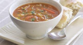 Как приготовить суп из  мяса кролика