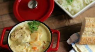 Как приготовить куриный суп с персиком и кокосовым молоком