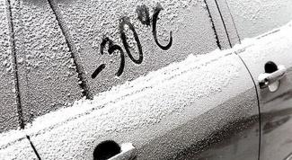 Как завести машину в холода?