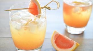 Коктейль Маргарита с грейпфрутом