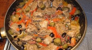 Как приготовить вкусное тушеное мясо