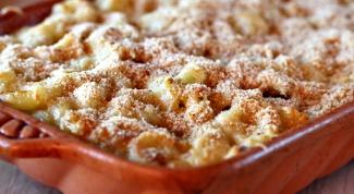 Как запечь макароны с цветной капустой под сыром в духовке