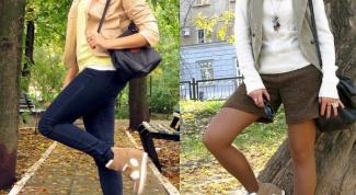 С чем носить сникерсы