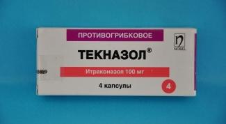 «Текназол»: инструкция по применению