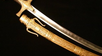 What distinguishes the sword from the sword
