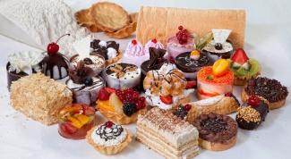 Как приготовить вкусное пирожное